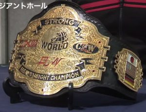 Former Big Japan Wrestling belt