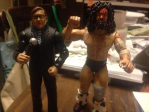 Gordon Solie and Bruiser Brodie
