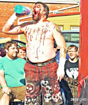 Deadly Dale chugging Faygo