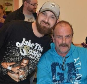 "David Russell and Jake ""The Snake"" Roberts"