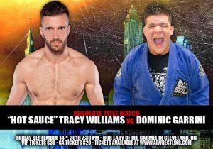 Dominic Garrini vs. Hot Sauce for the Title!